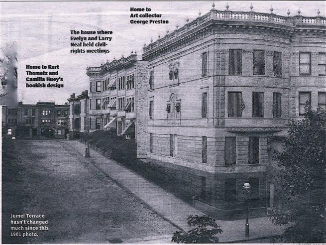 Jumel Terrace 1901